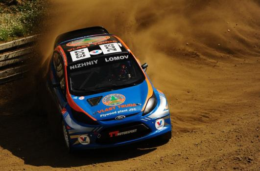 HighSpeed Ford Fiesta WRC Supercar.. max attack. 2012