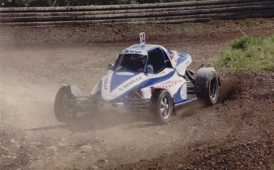 Alexey Jalunin Langa Autocross Buggy Team in action.