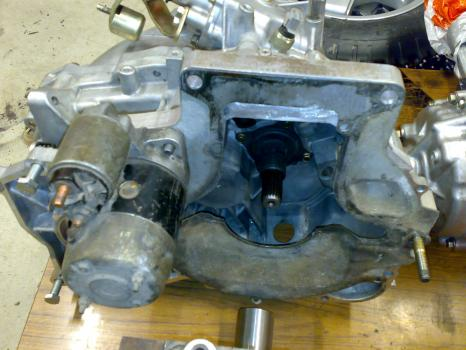 Other angle of mazda evop gearbox